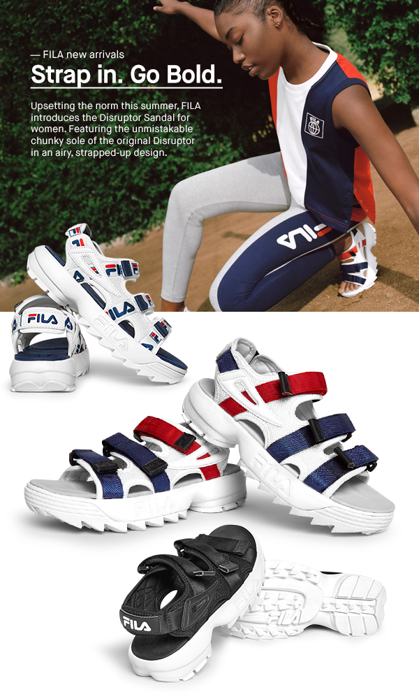 b0550f8031df FILA  Putting your style on a platform. Go bold with the FILA ...