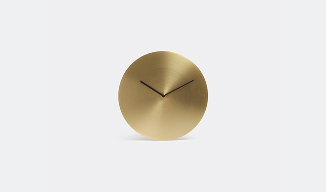 Norm metal wall clock by Norm Architects for Menu