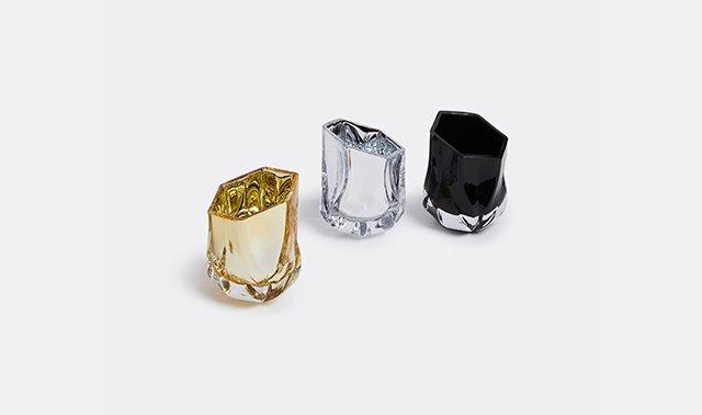 'Shimmer' tea light by Zaha Hadid Design