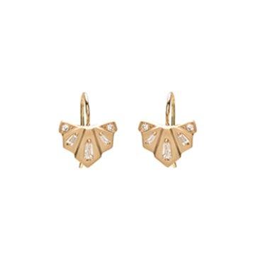 Michelle Fantaci Diamond Nomad Fan Drop Earrings $1,890