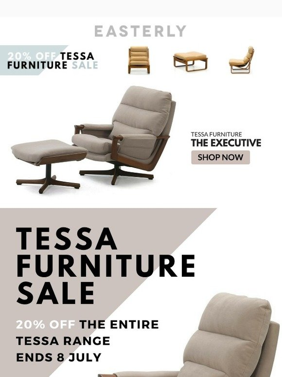 Pleasant Easterly Living 20 Off The Entire Tessa Furniture Range Bralicious Painted Fabric Chair Ideas Braliciousco