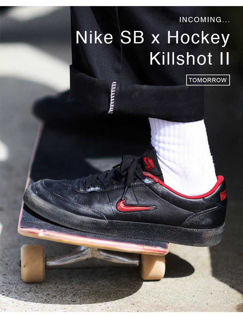 Attitude Inc: Nike SB x Hockey Killshot
