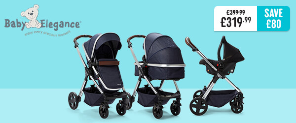 Baby Elegance Venti Travel System - Navy