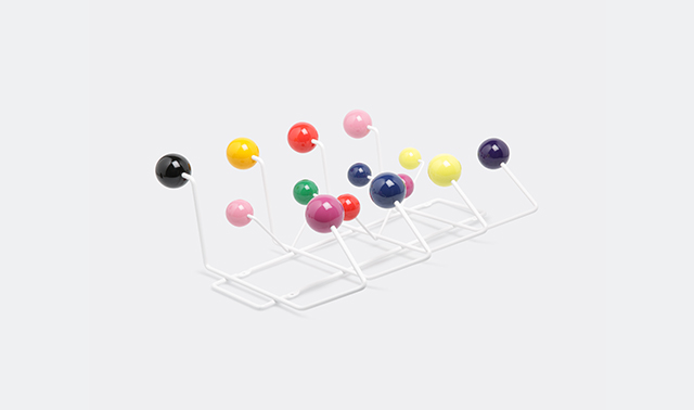 'Hang it all' coatrack Designed by Charles and Ray Eames for Vitra