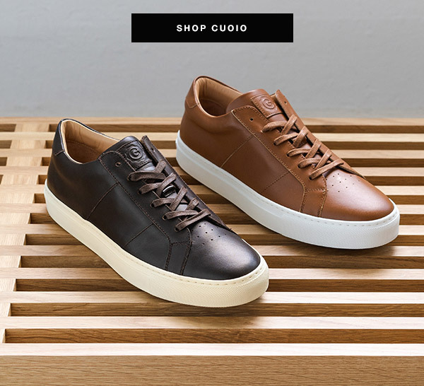 Greats: Back in Stock: The Royale Cuoio