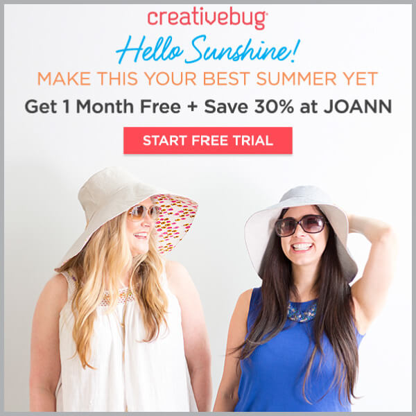 Learn with Creativebug. Get 1 Month Free. FIND YOUR INNER ARTIST.