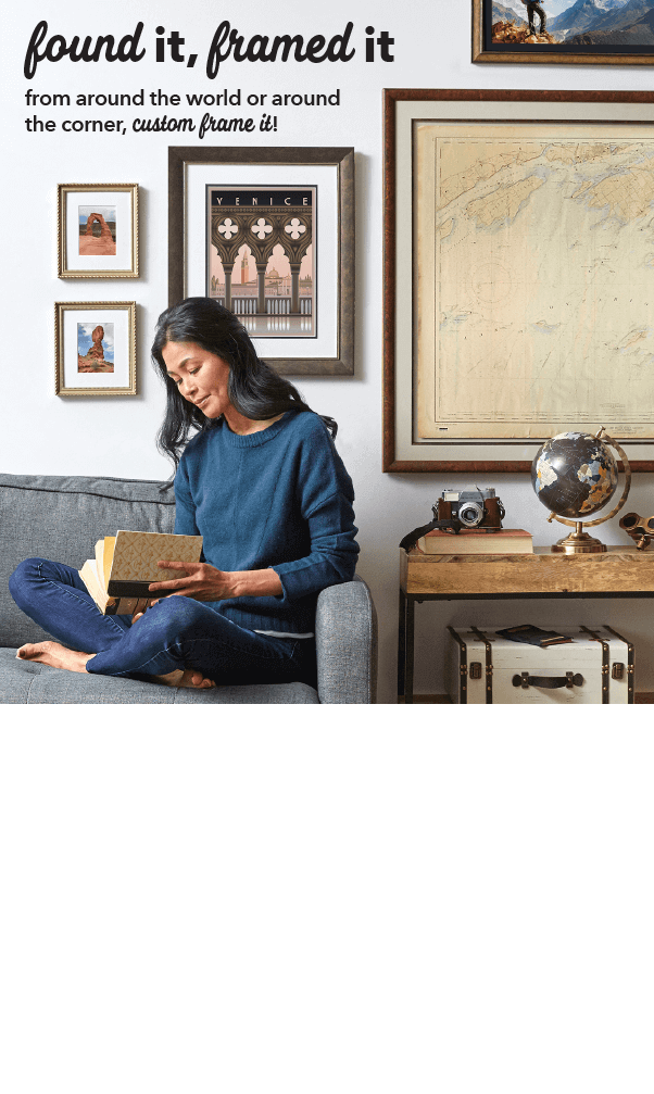 Save through 7/3. In-Store Only. 60% off + extra 10% off Your Entire Custom Framing Order. Choose from over 400 Frames. GET COUPON.