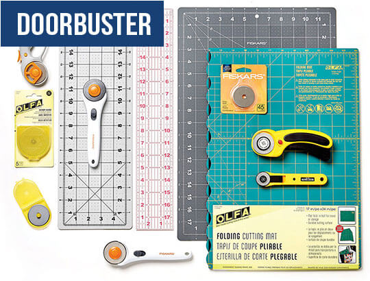 DOORBUSTER! Rotary Cutting Tools and Mats.
