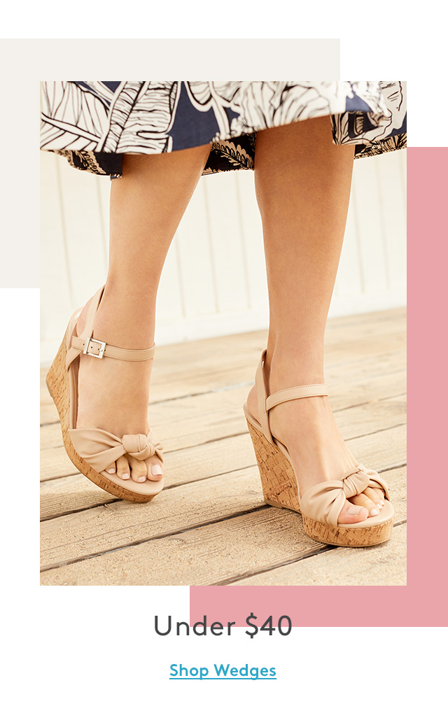 Under $40 | Shop Wedges