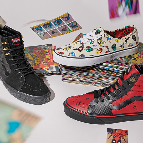 Walk In The Shoes Of Your Heros Journey Featuring Vans x Marvel - Shop Now