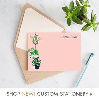 Shop New Custom Stationery!
