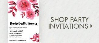 Shop Bachelorette Party Invitations!