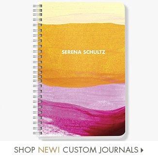 Shop New Custom Journals!