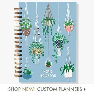 Shop New Custom Planners!