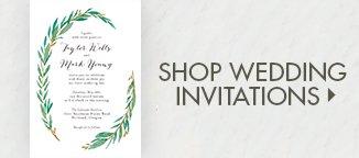 Shop Wedding Invitations!