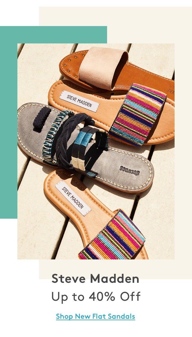 Steve Madden | Up to 40% Off | Shop New Flat Sandals