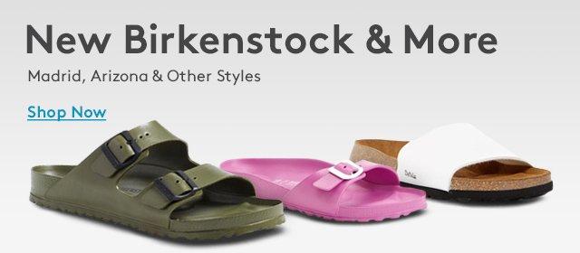 New Birkenstock & More | Madrid, Arizona & Other Styles | Shop Now
