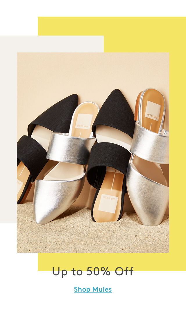 Up to 50% Off | Shop Mules