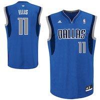Monta Ellis Dallas Mavericks adidas Replica Road Jersey - Royal Blue