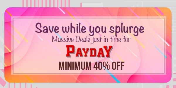 Save while you splurge