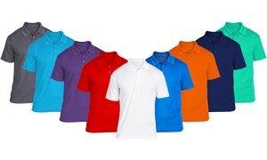 Men's Short-Sleeve Polo (6-Pack)