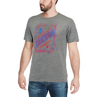 CCM Quebec Nordiques Gray Our Home Our Ice Tri-Blend T-Shirt