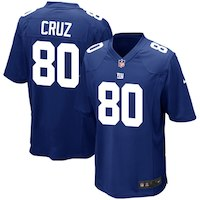 Nike Victor Cruz New York Giants Youth Royal Blue Team Color Game Jersey