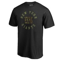 NFL Pro Line by Fanatics Branded New York Giants Black Camo Collection Liberty Big & Tall T-Shirt