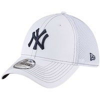 New Era New York Yankees White Team Turn Neo 39THIRTY Flex Hat
