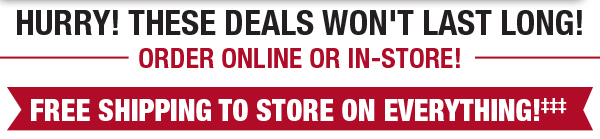 Free Shipping To Store On Everything