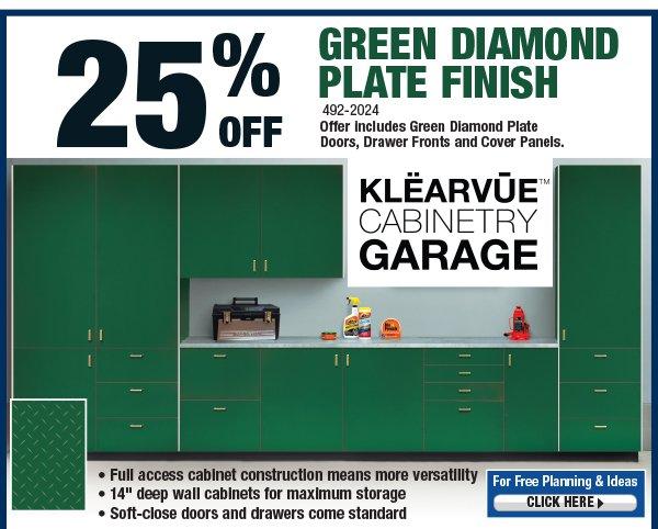 Klearvue Cabinetry Garage