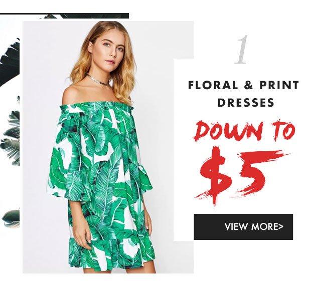 Florals-Print-Dress