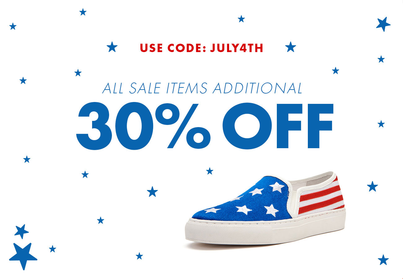 ALL SALE ITEMS ADDITIONAL 30% OFF