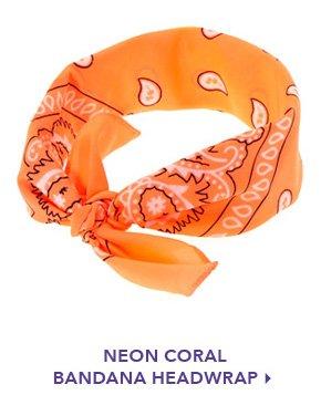 neon headwrap