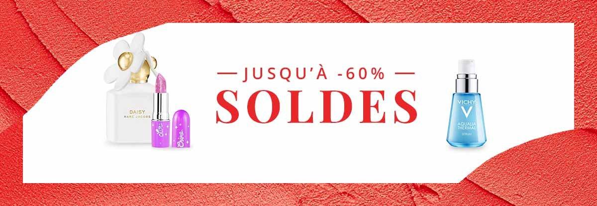 SOLDES - Jusqu' -60%