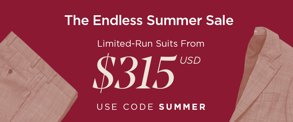 THE ENDLESS SUMMER SALE - ALL SUITS ON SALE FROM $315 USD - USE CODE SUMMER AT CHECKOUT