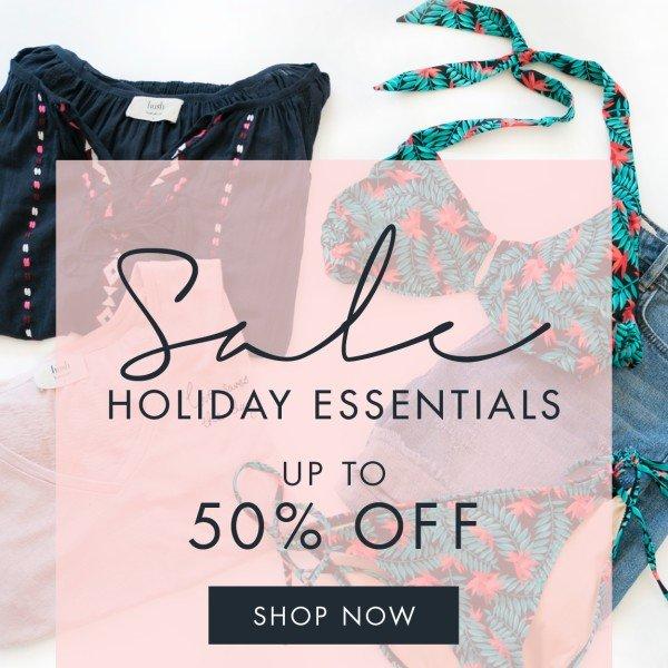 Sale - Holiday Essentials