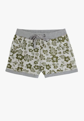Hawaiian Printed Shorts, 30