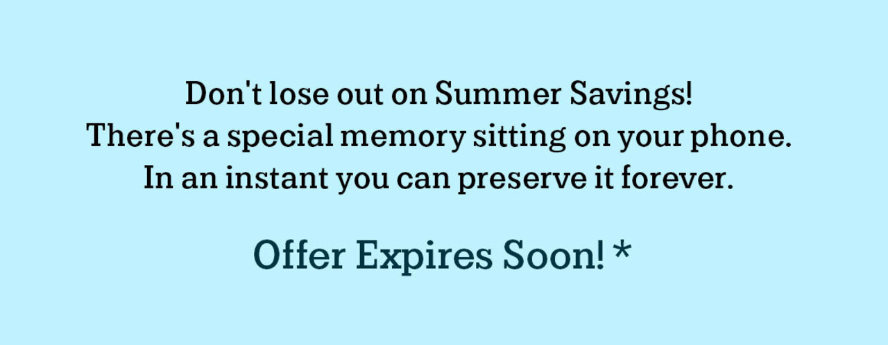 Offer expires at 11:59pm on Sunday, July 1.