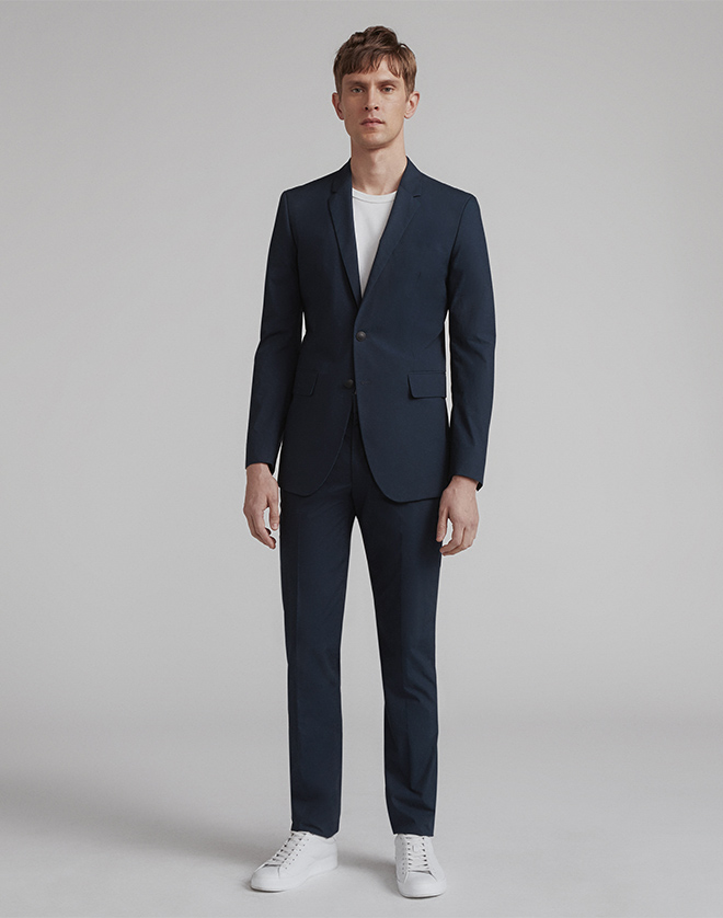 The Razor Suit now in a new lightweight cottonjust in time for Summer wedding season. Shop Now.