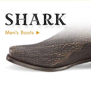 Mens Shark Boots