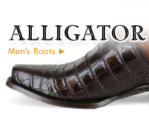 Mens Alligator Boots