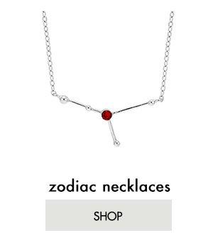Shop Zodiac Necklaces