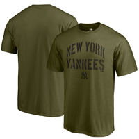 New York Yankees Fanatics Branded 2018 Memorial Day Camo Collection Jungle T-Shirt  Green