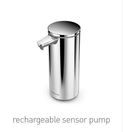 rechargeable sensor pump