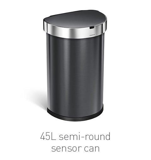45L semi-round sensor can