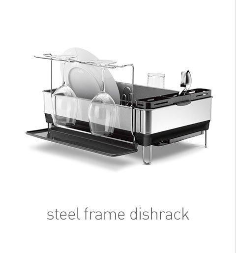 steel frame dishrack