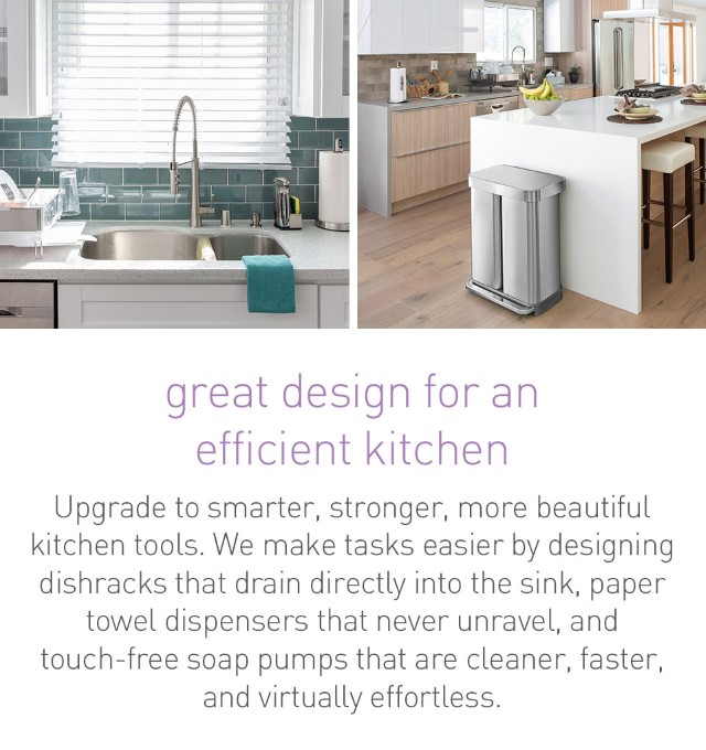 great design for an efficient kitchen