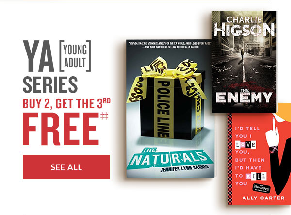 YA [YOUNG ADULT] SERIES BUY 2, GET THE 3RD FREE | SEE ALL