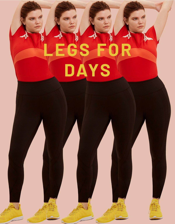 Activewear Leggings in Black